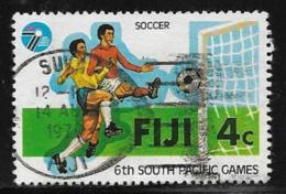 Fiji Scott # 405 Used Soccer, 1979 - Fiji (1970-...)