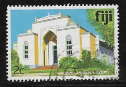 Fiji Scott # 410g Used Suva Church Building,1986 - Fidji (1970-...)
