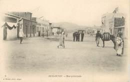 "CPA ALGERIE ""Beni Ounif, Rue Principale"" / GEISER - Algeria"