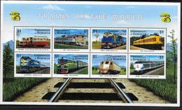 DOMINIQUE  Feuillet   N° 2309/16  * *  ( Cote 10e ) Trains - Eisenbahnen