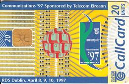 "IRELAND - Communications ""97, Chip GP1, 08/97 Used - Ireland"