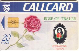 "IRELAND - Rose Of Tralee ""92, Chip GP1, 07/92, Used - Ireland"