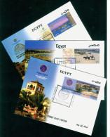 EGYPT / 2013 / TOURISM / UTOPIA RESORT ; MARSA ALAM ( RED SEA ) / HURGHADA  : MAKADI & SAHL HASHEESH / FDC - Égypte