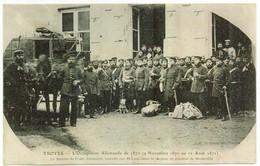 TROYES - Occupation Allemande De 1870 - Bureau De Poste Allemand Installé Rue St-Loup - Cachet Militaire - Troyes