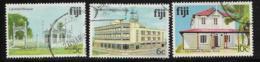 Fiji Scott # 412-4 Used Mosque,Post Office, Visitors Bureau,1979 - Fiji (1970-...)