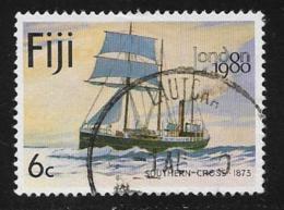 Fiji Scott # 426 Used Southern Cross Ship,1980 - Fidji (1970-...)
