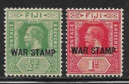 Fiji Scott # MR1-2 Mint Hinged War Stamp,1916 - Fiji (...-1970)