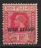 Fiji Scott # MR2 Used War Stamp,1916 - Fiji (...-1970)