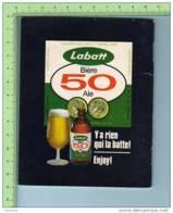 """Publicité C: 1965 -Biere - Labatt 50, Livret De Chansons, 25 Chansons Du Folklore Québécois, """" Québec"""" , - Alcools"""