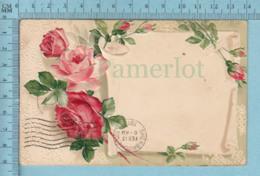 Carte De Voeux - Carte à Personnaliser, Embossed, Cover  Windsor Mills & Sherbrooke 1913 - Fiestas & Eventos