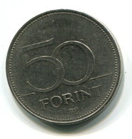 1995 Hungary 50 Forint Coin - Ungarn