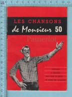 Publicité - Brasserie Labatt 50, Livret De Chansons, Parole De TEX, Monsieur 50, L'abattage - Alcools