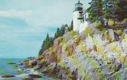 Maine Mt Desert Island Bass Harbor Head Lighthouse - United States