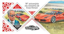 Guinea Bissau  2018   Enzo Ferrari Cars   S201811 - Guinea-Bissau