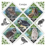 Guinea Bissau  2018  Owls  Fauna    S201811 - Guinea-Bissau