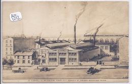 PARIS XV- MAISON A. GIREL- CHAUDRONNERIE INDUSTRIELLE- LES USINES - Arrondissement: 15