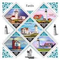 Guinea Bissau  2018  Lighthouses  S201811 - Guinea-Bissau