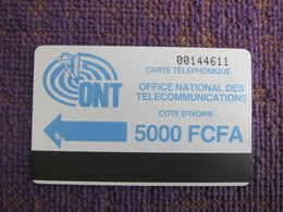 IVC-03a ONT Logo,different Surface, Used With A Little Scratch - Côte D'Ivoire