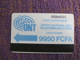 IVC-04 ONT Logo,used - Côte D'Ivoire