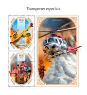 Guinea Bissau  2018  Special Transport  Cars Airplanes S201811 - Guinea-Bissau