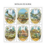 Guinea Bissau  2018 Battle Of Kursk World War II S201811 - Guinea-Bissau