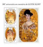 Guinea Bissau  2018 Gustav Klimt Paintings  S201811 - Guinea-Bissau
