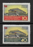 Russia/USSR 1958,Intl.Exhibition In Brussels,Sc 2051-52,VF MNH**OG (RNAL-1) - 1923-1991 USSR