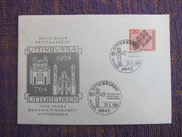 Ottobeuren 1200 Jahre First Day Cover - [7] Federal Republic