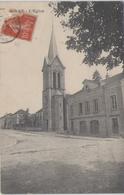 CPA 71 Saône Et Loire - CORRE - L'église - Autres Communes