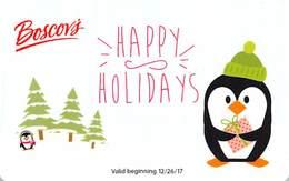 Boscov's Gift Card - Valid Beginning 12/26/17 - Gift Cards