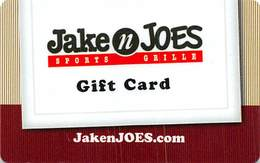 Jake N Joes Sports Grille Gift Card - Gift Cards
