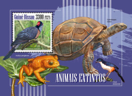 Guinea Bissau  2018  Extinct Species Fauna  S201811 - Guinea-Bissau