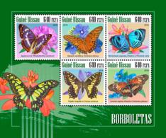 Guinea Bissau  2018  Butterflies Fauna  S201811 - Guinea-Bissau
