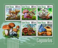 Guinea Bissau  2018  Mushrooms   S201811 - Guinea-Bissau