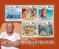 Guinea Bissau  2018  Pablo Picasso Paintings  S201811 - Guinea-Bissau