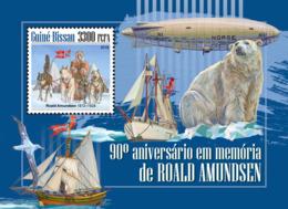 Guinea Bissau  2018   Roald Amundsen  Explorer Of Polar Regions  S201811 - Guinea-Bissau