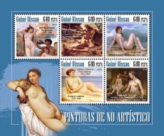 Guinea Bissau  2018  Nude Paintings  S201811 - Guinea-Bissau