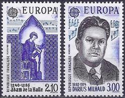 France 1985 - Europa CEPT : Year Of Music ( Mi 2497/98 - YT 2366/67 ) MNH** - France