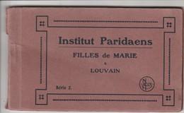 Leuven,Louvain,  Carnet De 8 Cartes , Institut Paridaens ,fille De Marie - Leuven