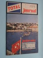 TOTAL Junior - Nouvelle Série N° 4 Aout 1966 ( Stamp Mme BAUDET Garagiste à VIRANDEVILLE > Voir Xtra Photo Svp )! - Livres, BD, Revues