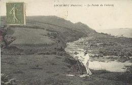 8473 CPA Locquirec - La Pointe Du Corbeau - Locquirec