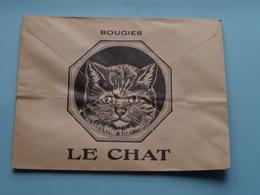 """Soc. Des Bougies """" LE CHAT """" FOURNIER-FERRIER Marseille (1er) ( Enveloppe / Omslag > Voir Photo Svp ) - Autres"""