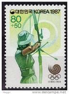 COREE DU SUD    N°  * *      Jo 1988   Tir A L Arc - Archery