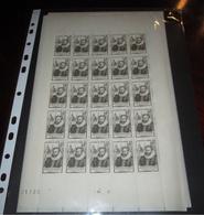 France Neuf** 1946 N° 754 GUILLAUME FOUQUET FEUILLE COMPLETE - Ganze Bögen