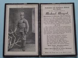 DP Michael MAYERL Erzbischof Geboren Am 30 Mai 1894 - 6 April 1915 NADWORNA (Galizien) ! - Todesanzeige