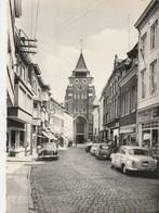 Wavre ,Rue Commerce Et église St Jean Baptiste ,voiture ,auto ,Peugeot , Mercedes Benz,  Oldtimer - Wavre