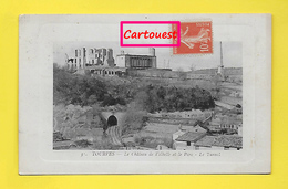 CPA 83 ֎ TOURVES ֎ Le Tunnel, Le Parc Et Les Ruines Du Château De VALBELLE  ֎ 1916 - Barjols