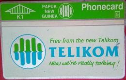 K1 New Telikom - Papua New Guinea