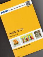 MlCHEL Briefmarken Junior 2019 Neu 10€ Deutschland DR 3.Reich Danzig Saar Berlin SBZ DDR AM BRD ISBN 97839540222588 - Philatélie Et Histoire Postale