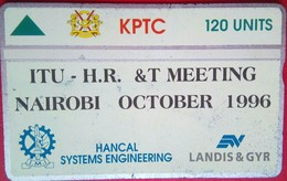 ITU Meeting 1996  Mint 120 Units - Kenia